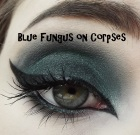 Blue Fungus on Corpses Eyeshadow  VEGAN COLOR OF THE MONTH